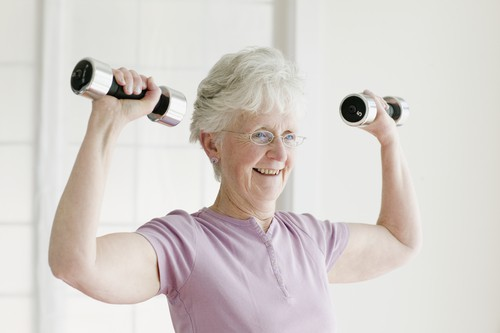Weight Training Helps Seniors Live Longer