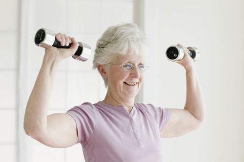weight training helps seniors live longer