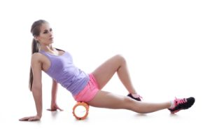 how to use foam roller piriformis