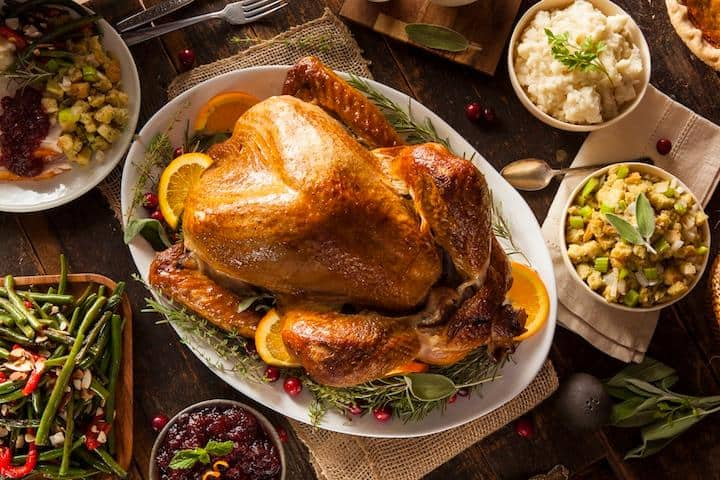 Avoiding thanksgiving weight gain